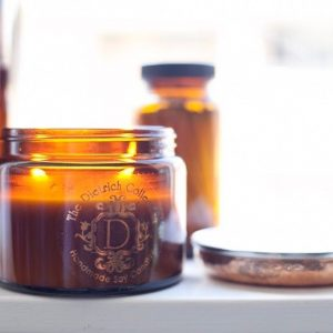 Handmade Soy Candle | Large Amber Candle | Project Organic