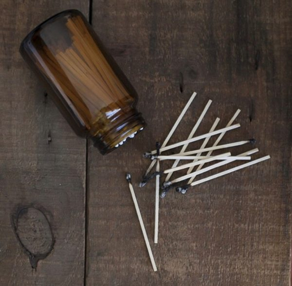 Matches in Jar | Project Organic