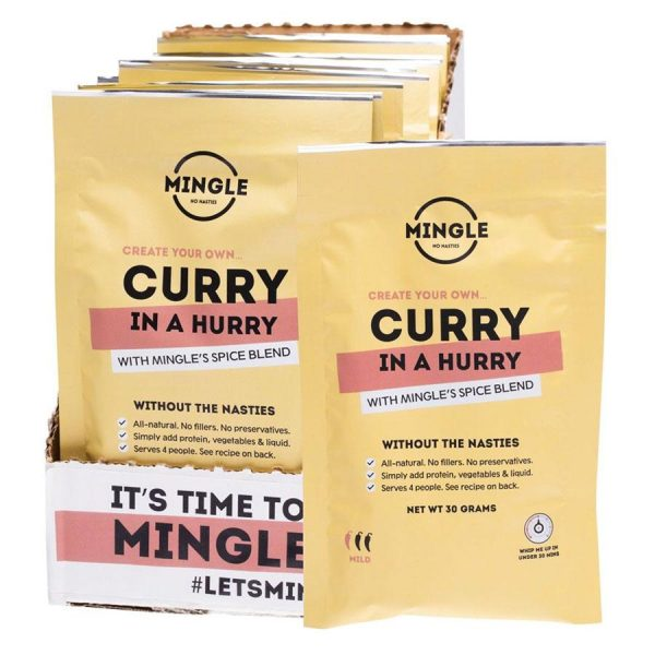 Natural Seasoning Blend Curry | Project Organic